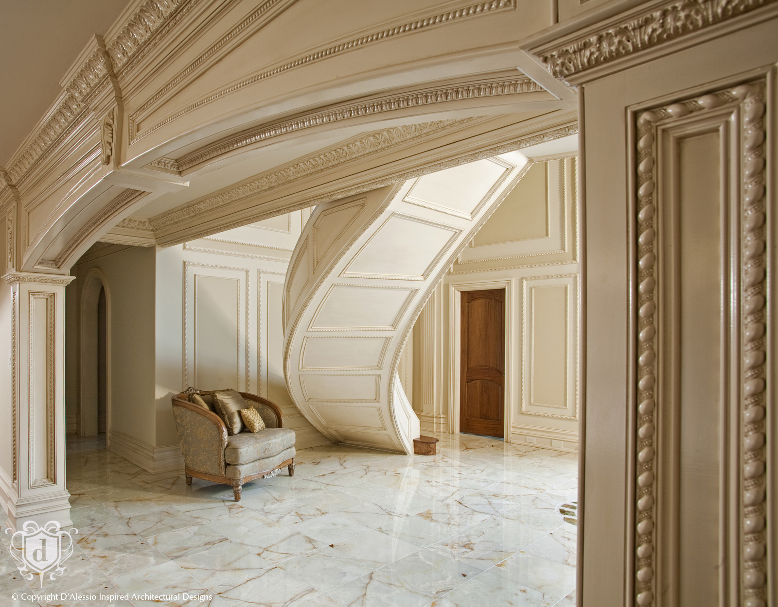 D Alessio Custom Architectural Millwork Design Services