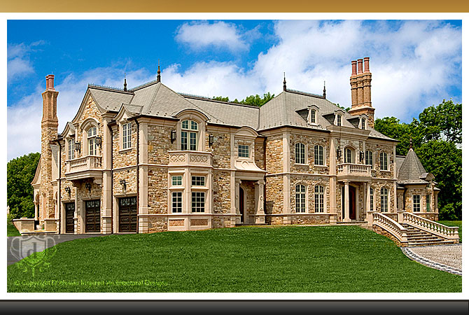 The Chateau - Custom Luxury Mansion